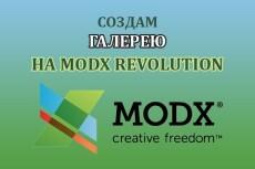 Создам вывод новостей на modx Revolution 9 - kwork.ru