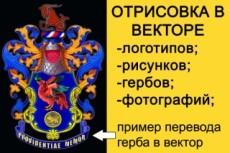 Векторный портрет 15 - kwork.ru