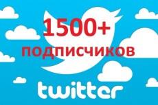 Добавлю ваш аккаунт в Твиттер в 50 разных списков 21 - kwork.ru