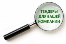 Форма 2 по 44-ФЗ. Поиск аукционов 6 - kwork.ru