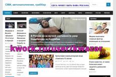 Продам сайт СМИ + 8000 контента, автонаполнение, english 11 - kwork.ru