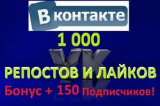 Продвижение групп Вконтакте + 550 подписчиков в группу + бонус 3 - kwork.ru