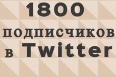 1700 подписчиков на Ваш аккаунт в Twitter 18 - kwork.ru