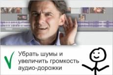 Почищу от шумов и подниму громкость записи, сделанной на диктофон 7 - kwork.ru