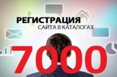 Регистрация в 50 каталогов сайтов 17 - kwork.ru