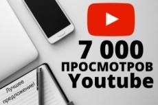 Youtube просмотры 16000 шт 16 - kwork.ru
