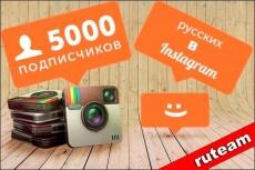 1000+10 Живых подписчиков на профиль в  Instagram 23 - kwork.ru