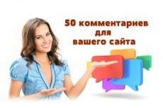 Размещу 40 развернутых комментариев на любом сайте 4 - kwork.ru