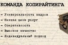 Качественно и грамотно сделаю 8000 символов рерайта 3 - kwork.ru