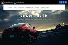 Готовый сайт Landing Page Автошкола 29 - kwork.ru