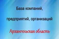 База компаний, предприятий, организаций. Воронежская область 26 - kwork.ru