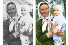 Сделаю 5 портретов на Бессмертный полк 24 - kwork.ru