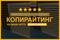 Логотип в Векторе по вашему Эскизу Качественно 51 - kwork.ru