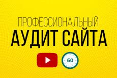Ручной аудит сайта + консультация 35 - kwork.ru