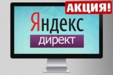 Яндекс. Директ - Настройка контекстной рекламы. 100 ключевых фраз 5 - kwork.ru