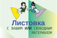 Рисунок в стиле paint 28 - kwork.ru