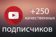 Добавлю 250 подписчиков на ваш канал YouTube | Ручная работа, без списаний 18 - kwork.ru
