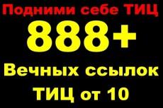 Размещение ссылок с анкором в профилях более 1 000 вечных ссылок 19 - kwork.ru