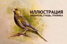 Нарисую графику черно-белую или с акварелью 29 - kwork.ru