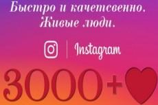 30000 лайков на Ваши публикации в инстаграм 11 - kwork.ru