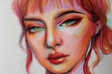 Нарисую  стилизованный портрет,ваших персонажей,всё,что пожелаете 22 - kwork.ru
