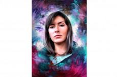 Шрифтовой портрет 13 - kwork.ru