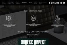 Настройка Яндекс Директ под ключ 36 - kwork.ru