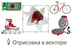 Переведу в вектор растровое изображение 53 - kwork.ru