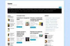 Скрипт CPA блога с автоматическим наполнением по кейвордам 6 - kwork.ru