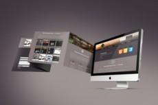 Уникальный и современный дизайн страницы сайта 36 - kwork.ru