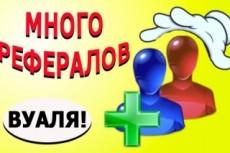 Привлеку 20 рефералов в Ваши проекты или сервисы 18 - kwork.ru