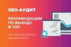 Качественный аудит сайта с рекомендациями 27 - kwork.ru