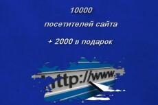 1000 подписчиков в Twitter + 500 в подарок 5 - kwork.ru