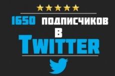 1700 подписчиков в ваш аккаунт Twitter 8 - kwork.ru