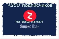 Привлеку 100 подписчиков на Яндекс. Дзен 13 - kwork.ru