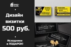 Разработка визитки. Результативно. Исходник бесплатно 10 - kwork.ru