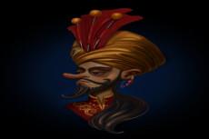 2D персонаж 12 - kwork.ru