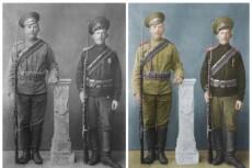 Реставрация, восстановление фотографий 3 - kwork.ru