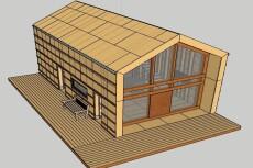 3D-модель инструмента, торговой площадки или небольшого дома 11 - kwork.ru