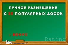 Вручную размещу объявление на 60 досках объявлениях в ВК 3 - kwork.ru