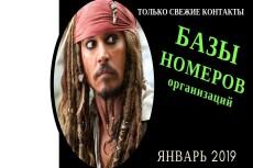 Базу номеров телефонов 2 - kwork.ru