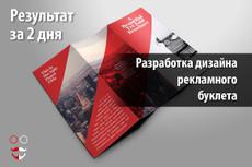 Разработка рекламного буклета 16 - kwork.ru