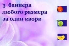 Сделаю баннер для рекламной компании РСЯ 35 - kwork.ru