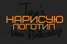 Дизайн логотипа по Вашему эскизу 9 - kwork.ru