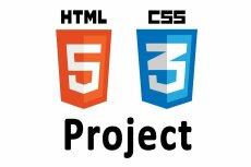 Верстка HTML+CSS по дизайн макету PSD 19 - kwork.ru