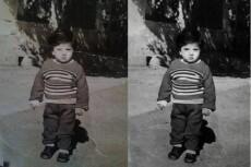 Сделаю цветную фотографию из черно-белой. Оцветение старых фотографий 6 - kwork.ru