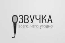 Профессионально озвучу текст. Хронометраж до 25 секунд 23 - kwork.ru
