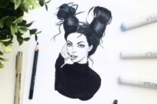 Шарж в стиле Fashion 10 - kwork.ru