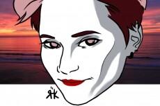 Напишу портрет в стиле мультяшных персонажей 11 - kwork.ru