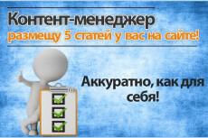 Размещение с оформлением 3х статей на ваш сайт - Видео, IMG, Теги 4 - kwork.ru